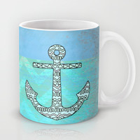 Tribal Anchor Mug by M Studio