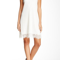 Lace Mesh Shift Dress