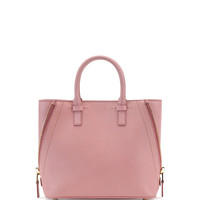 Jennifer Small Trap Calfskin Tote Bag, Pink - TOM FORD