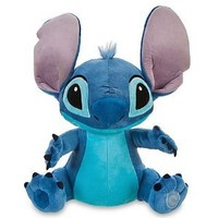 "Disney, Lilo and Stitch, Stitch 16"" Soft Plush doll Toy.: Amazon.co.uk: Toys & Games"