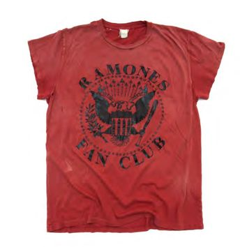 MADEWORN | Ramones Fan Club Tee - Red