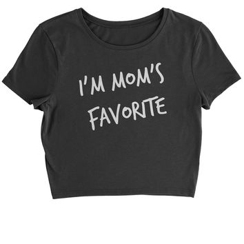 I'm Mom's Favorite Cropped T-Shirt