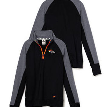 Denver Broncos PINK Ultimate Half-Zip - PINK - Victoria's Secret