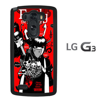 Emily the Strange Tailen Band Z0907 LG G3 Case