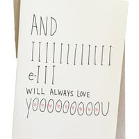Always Love You Greeting Card