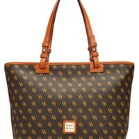 Dooney & Bourke Gretta Signature Small Leisure Shopper | macys.com