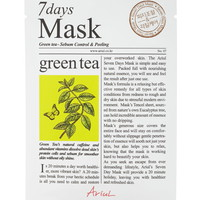 Green Tea Sheet Face Mask | Forever 21 - 1000237939