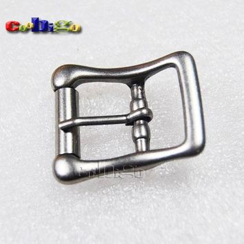 "5pcs Pack 3/4"" Nickel Plated Metal Roller Pin Buckle Belt Appeal Supplies Dog Collar Harness Strap Webbing Bag Parts Hardware"