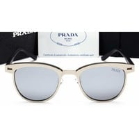 Prada Women Casual Sun Shades Eyeglasses Glasses Sunglasses-4