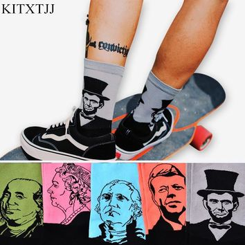 Men's Socks: Famous Historical Figures, Famous Artwork and Fun Print Patterns