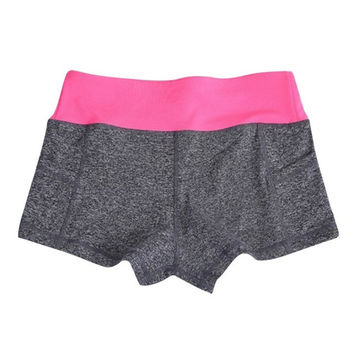Summer Fitness Shorts Grey/Pink