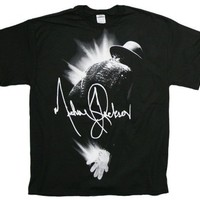 Michael Jackson Flare Mens T-Shirt in Black