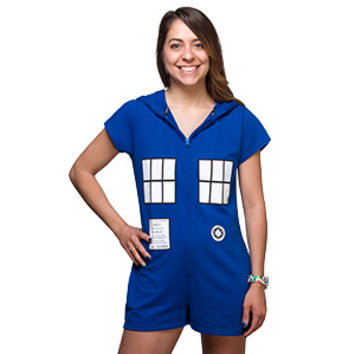 Doctor Who TARDIS Romper - Exclusive
