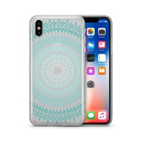Steph Okits X Milkyway Cases Gypsy Teal Mandala - Clear Case Cover