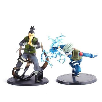 Naruto Sasauke ninja  Kakashi Sasuke Action Figure Anime Puppets Figure Pvc Toys Figure Model Table Desk Decoration Accessories AT_81_8