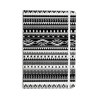 "Nika Martinez ""Black Hurit"" Gray White Everything Notebook"
