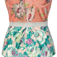 Zimmermann | Celestial floral-print underwired swimsuit | NET-A-PORTER.COM