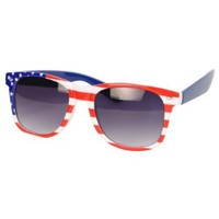 """USA"" American Flag Sunglasses - H4182 - USA"