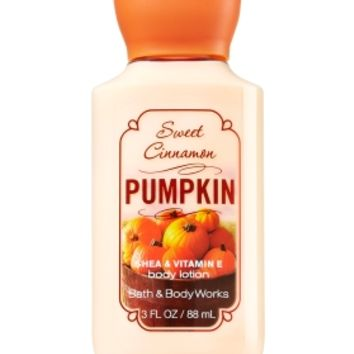 Travel Size Body Lotion Sweet Cinnamon Pumpkin