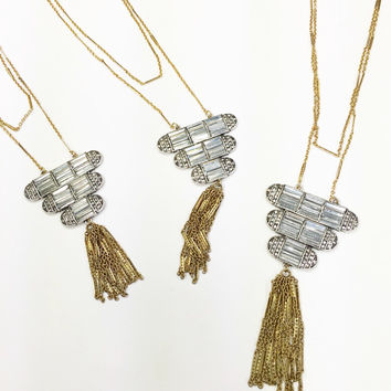 Fine & Vintage Tassel Necklace