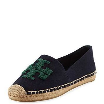 Tory Burch Women's Navy Norwood Elisa Espadrilles Shoes