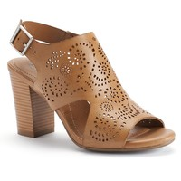 sole (sense)ability Molly Women's Cutout Slingback Heels