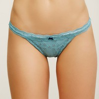 Free People Oh My Darling Thong