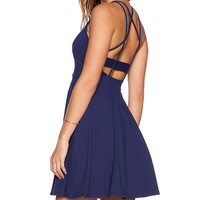 Susana Monaco Piper Dress in Navy