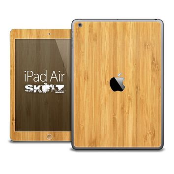 The Raw Blonde Wood Skin for the iPad Air