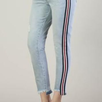 "Dear John ""Canyon"" Joyrich Ankle Side Stripe Skinny"