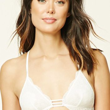Sheer Lace Mesh Bralette