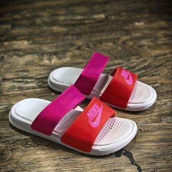 Nike Benassi Swoosh Sandals Style #6 Slippers - Best Online Sale