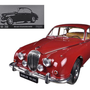 1967 Daimler V8-250 Regency Maroon Limited to 3000pc 1-18 Diecast Model Car by Paragon