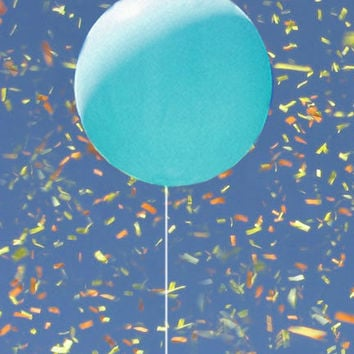 Turquoise Balloon 36"