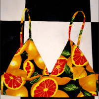 SWEET LORD O'MIGHTY! CITRUS BRALET IN BLACK
