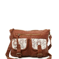 Crochet Washed Cross Body