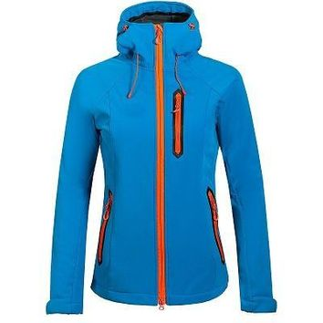 Women Winter Fleece Softshell Jacket Outdoor Sport Waterproof Coats Hiking Skiing Camping Female Jackets