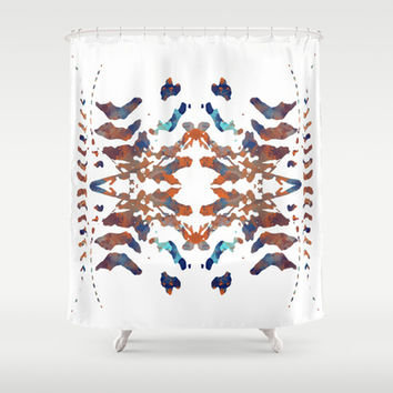 Ethnic Shower Curtain by Rui Faria