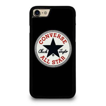 CONVERSE ALL STAR LOGO iPhone 4/4S 5/5S/SE 5C 6/6S 7 8 Plus X Case