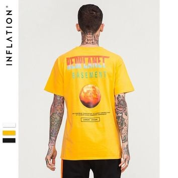 Short Sleeve Men's Fashion Simple Design Pattern Cotton T-shirts [753822302301]