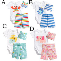 Little Animal Baby 3 Piece Baby Boy/Girl Set