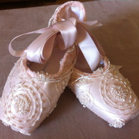 Head Decorate Ballet Pointe Soes