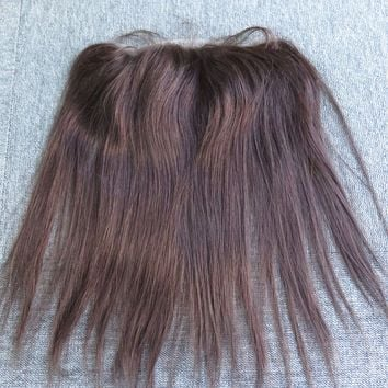 Discounted Human Hair All French Lace Front Hair Replacement Hairpiece System