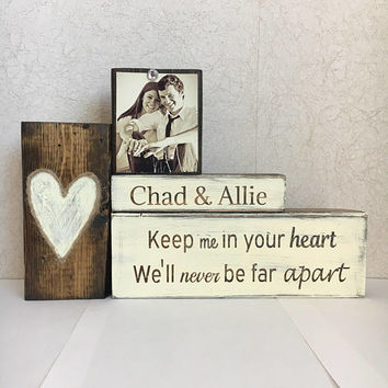 Rustic wedding gift, rustic decor, vintage wedding, bridal shower gift, anniversary gift, custom gift, wedding gift ideas, unique gifts