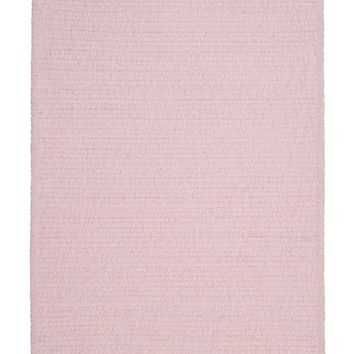 Colonial Mills Simple Chenille M702 Blush Pink Kids/Teen Area Rug