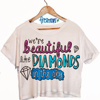 Shine bright crop top | fresh-tops.com