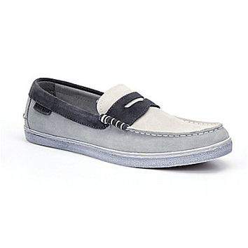 Cole Haan Men's Pinch LTE Penny Loafers - Limestone/Ivory/Pewter