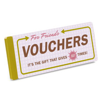 Vouchers For Friends by Knock Knock - knockknockstuff.com
