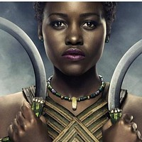 Black Panther T'Challa female guard necklace
