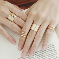 3Pcs/Set Midi Ring Set